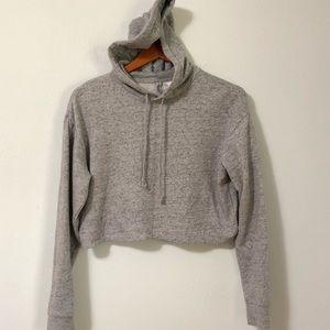 New Divided Crop hoodie